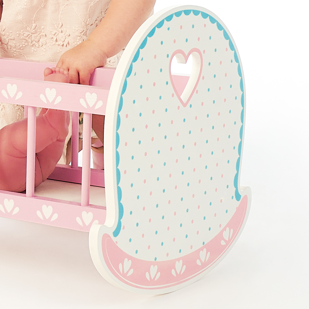 Picture of Wooden Classics: Wooden Toy Cot