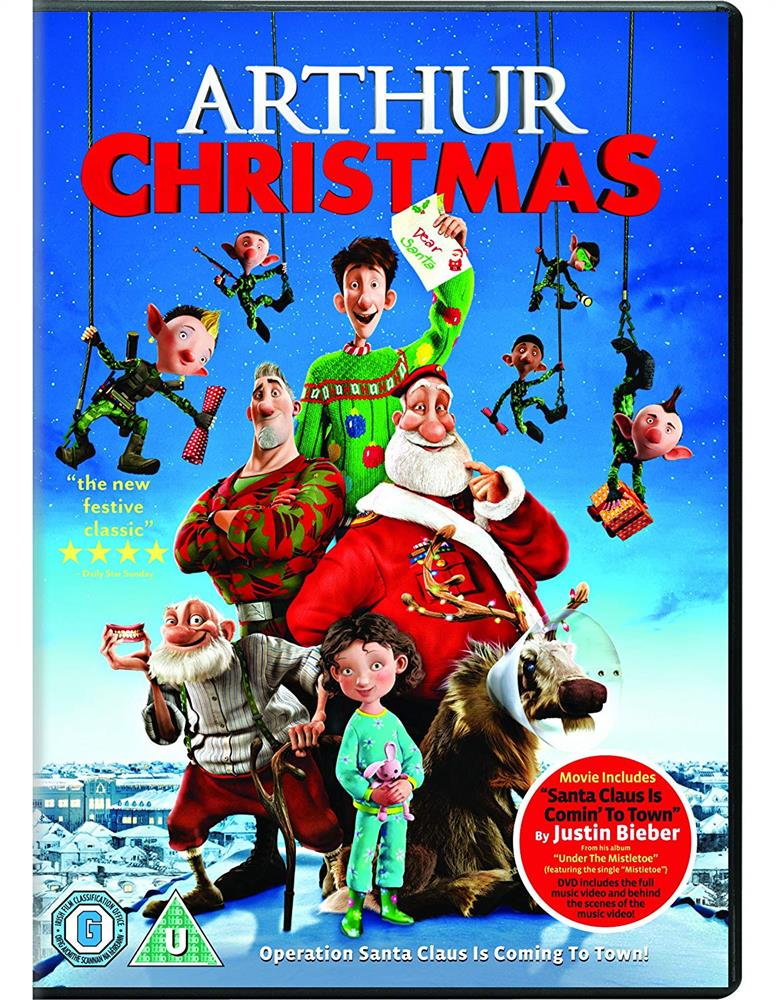 Picture of Arthur Christmas DVD