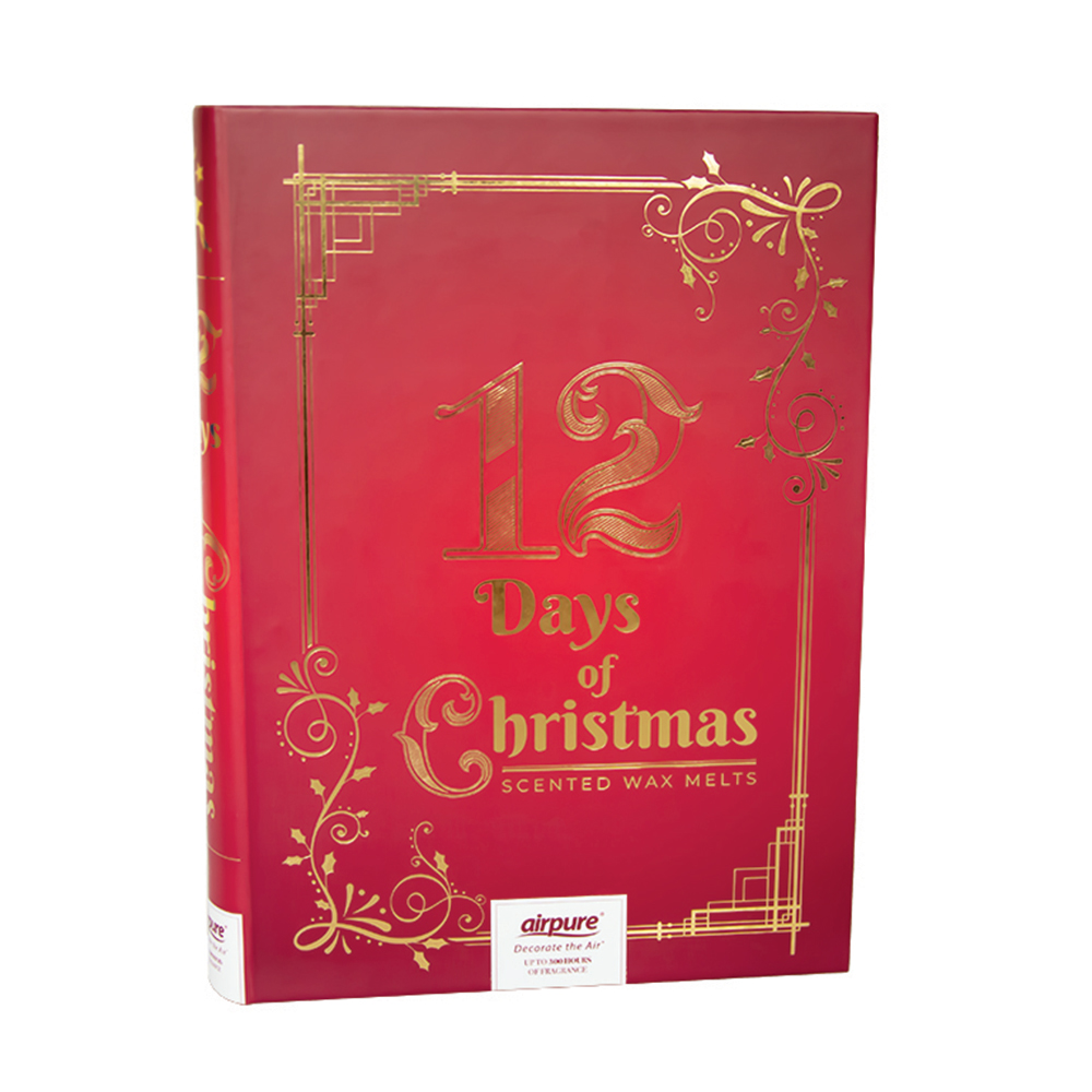 Picture of AirPure Wax Melts Gift Book 12 Days of Christmas Advent Calendar