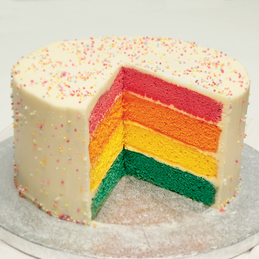 Picture of Jane Asher Rainbow Cake Mix (4 x 1015g Box)