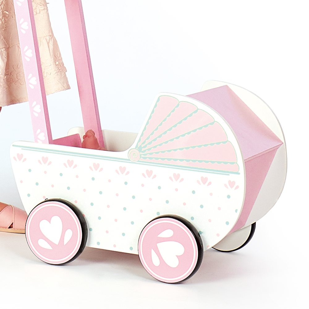 Picture of Wooden Classics: Wooden Toy Pram