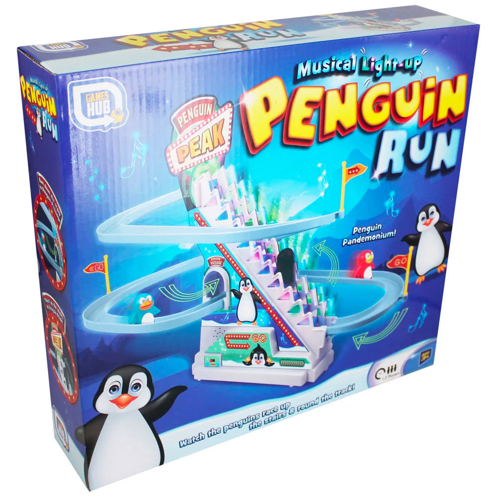 Picture of Musical Light-Up Penguin Run Game