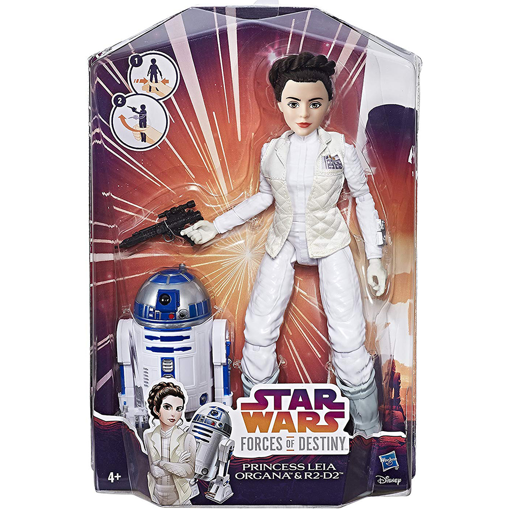 Picture of Star Wars Forces of Destiny: Princess Leia & R2-D2