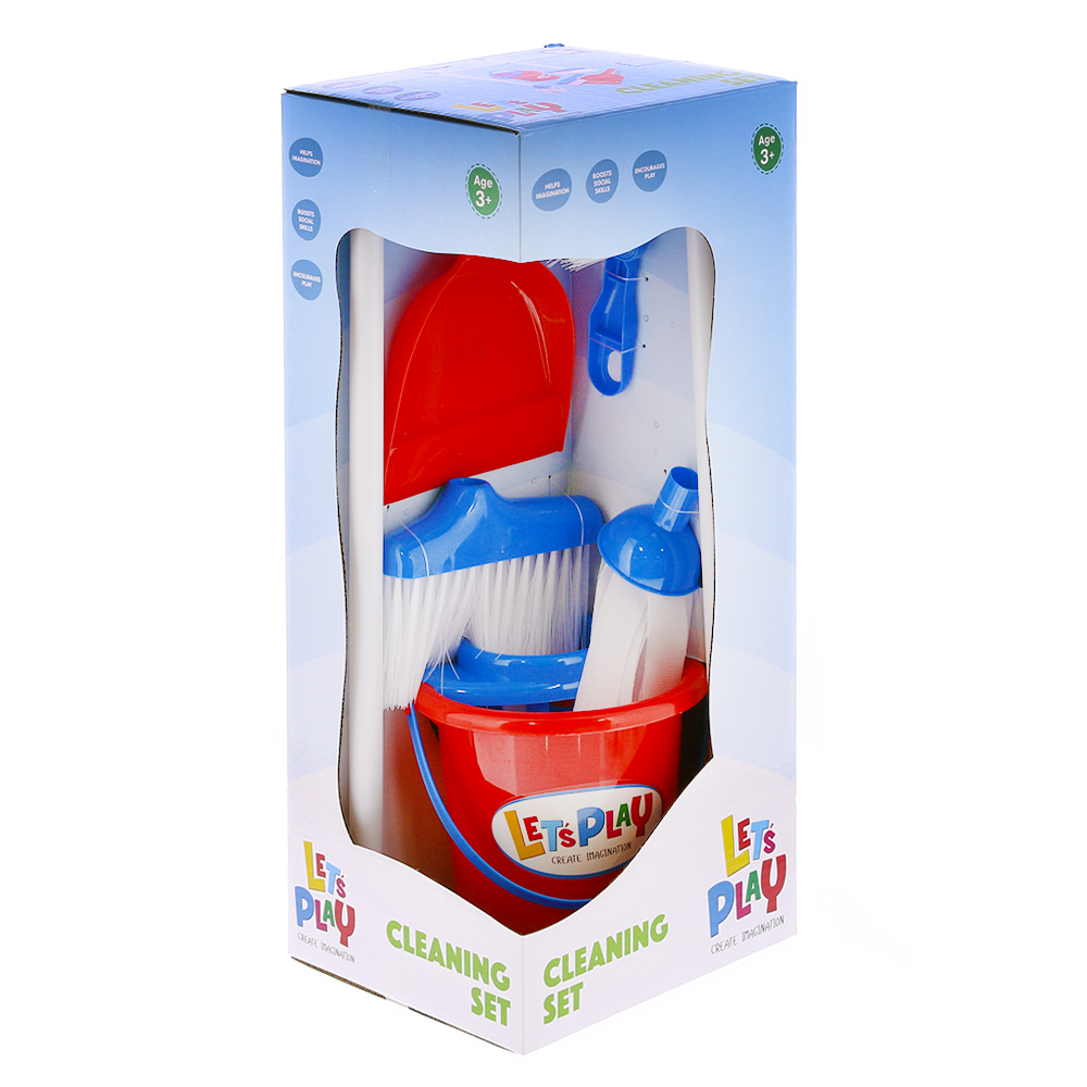 Picture of Let's Play: Toy Cleaning Set