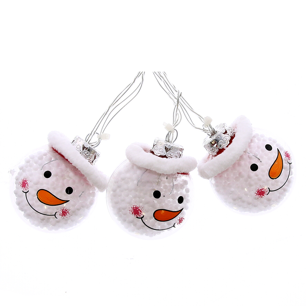 Picture of Noel 10 LED Snowman String Lights