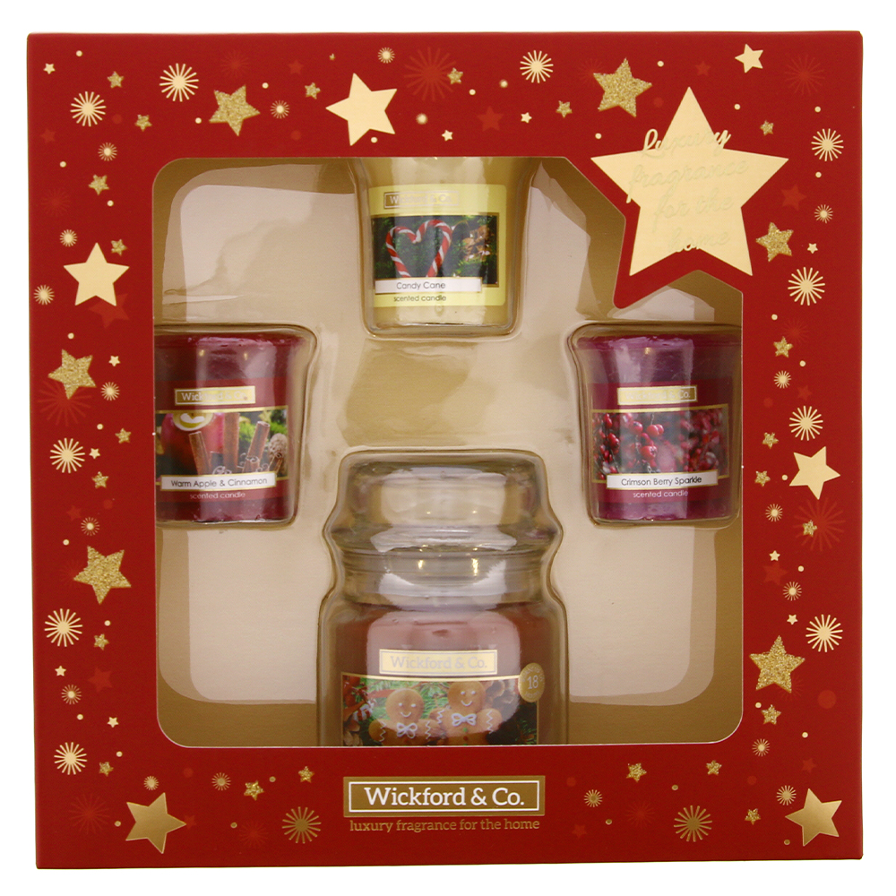 Picture of Wickford & Co. 4 Piece Candle Set