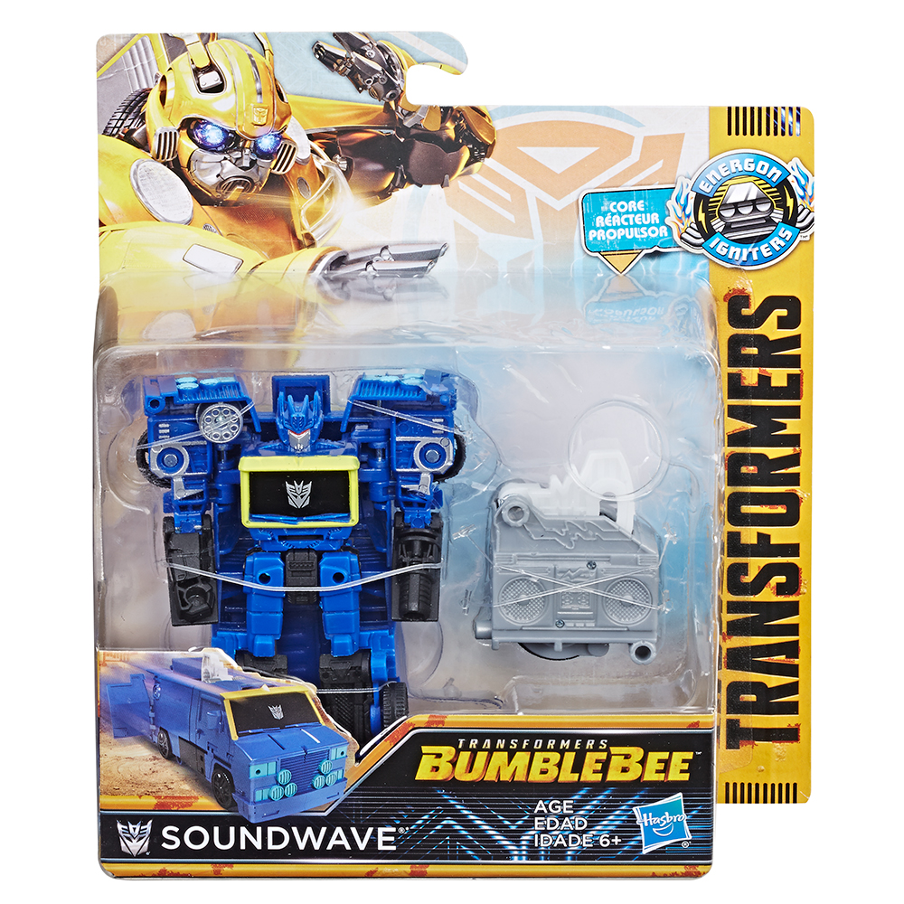 Picture of Transformers Bumblebee: Energon Igniters Figure