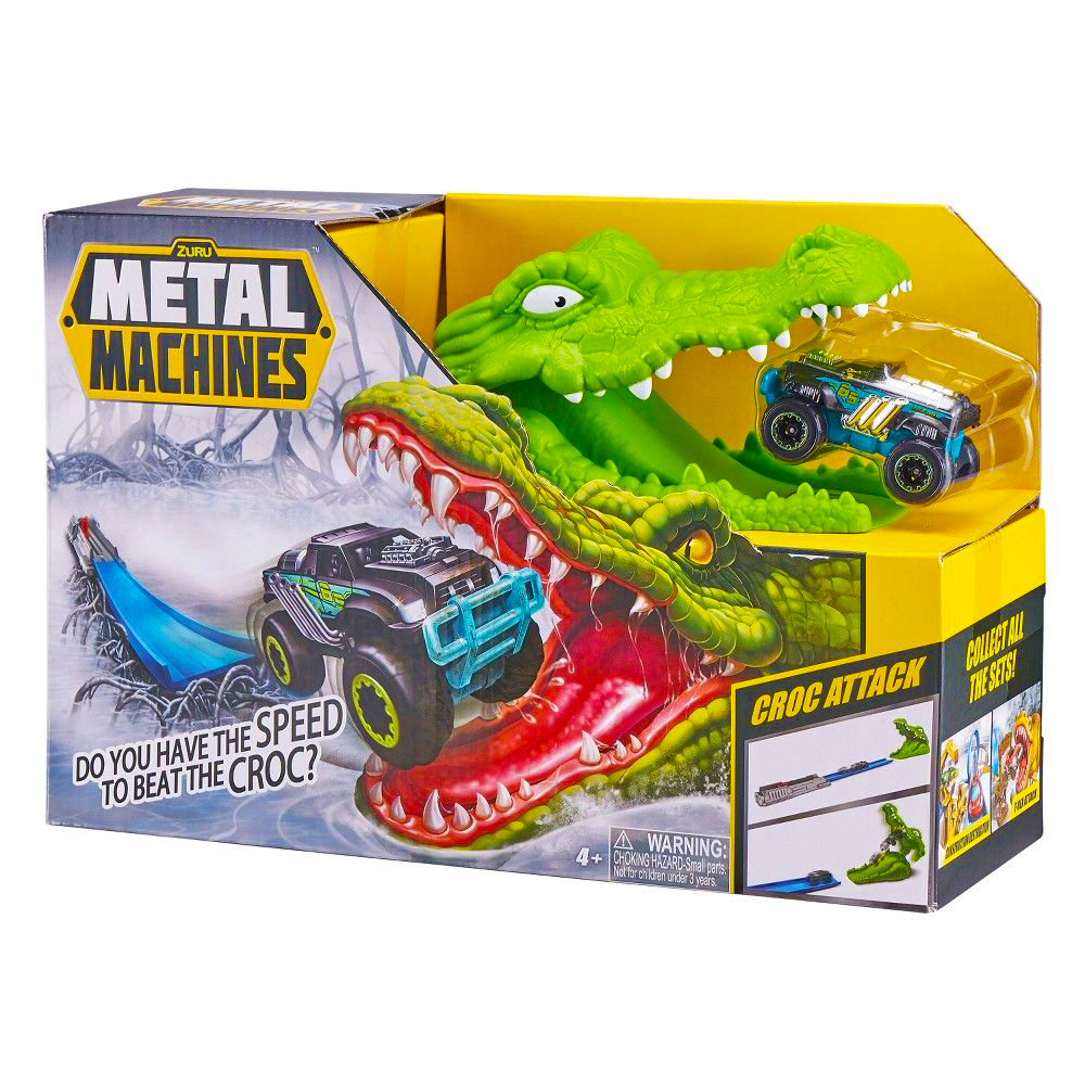 Picture of Zuru Metal Machines Croc Attack Playset