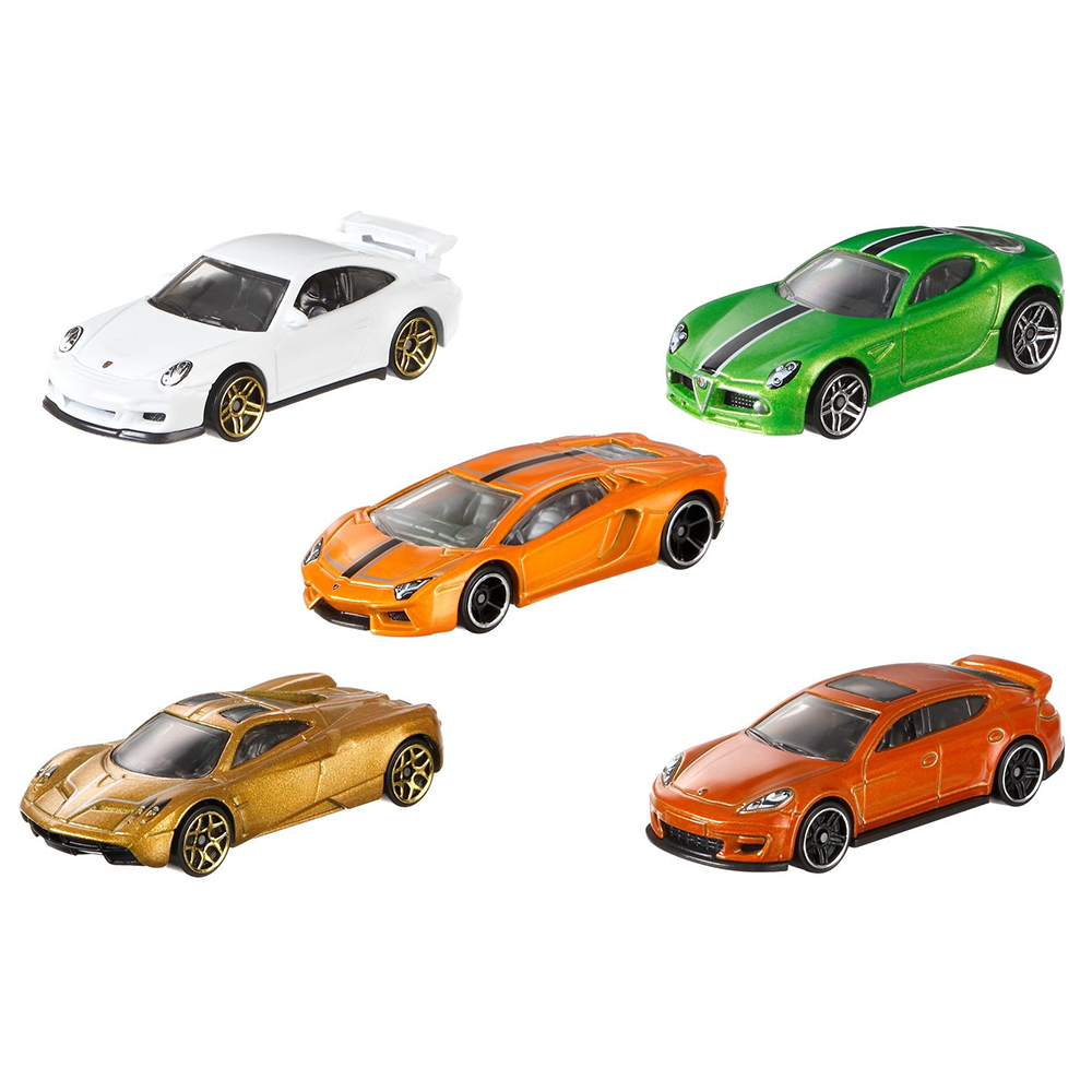 Picture of Hot Wheels 5 Pack Car Set