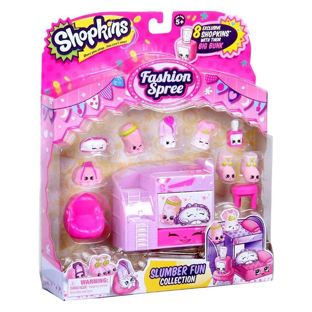 Picture of Shopkins Fashion Spree Assorted Playset