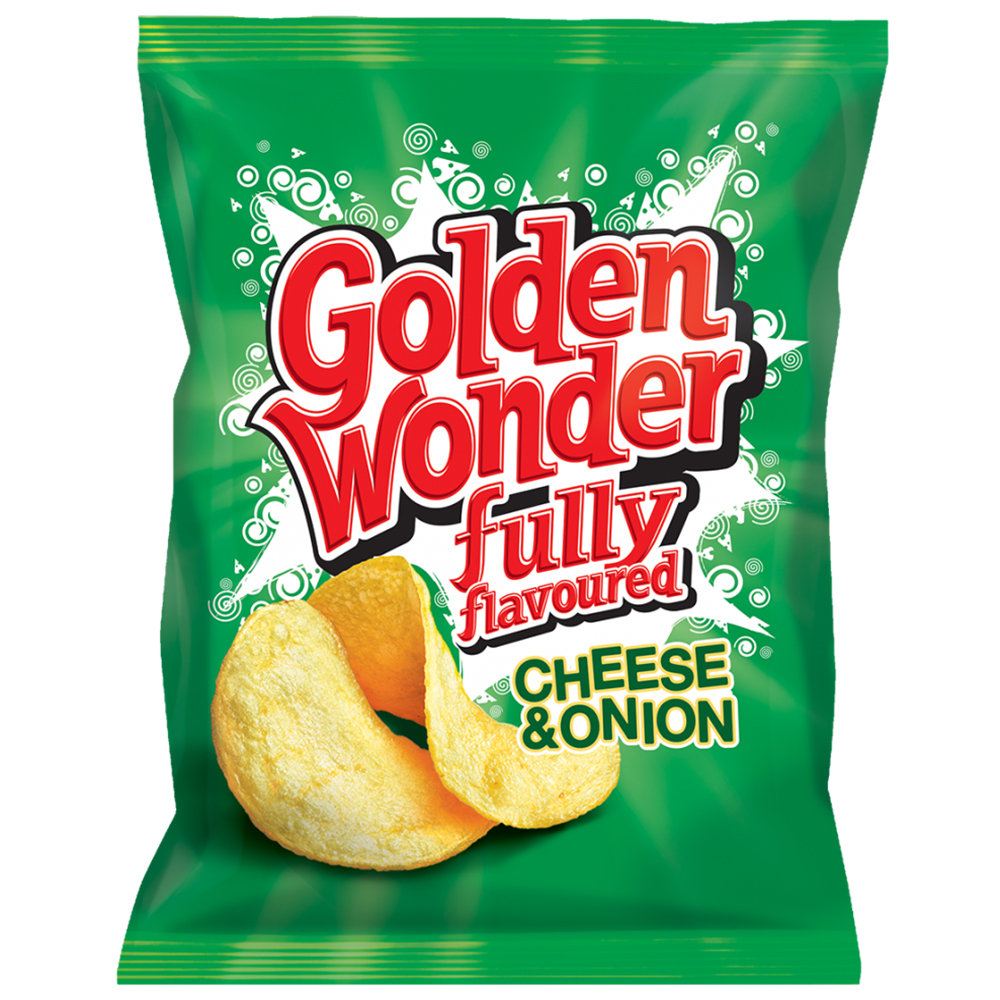 Picture of Golden Wonder: Cheese & Onion (Case of 48 Packs)