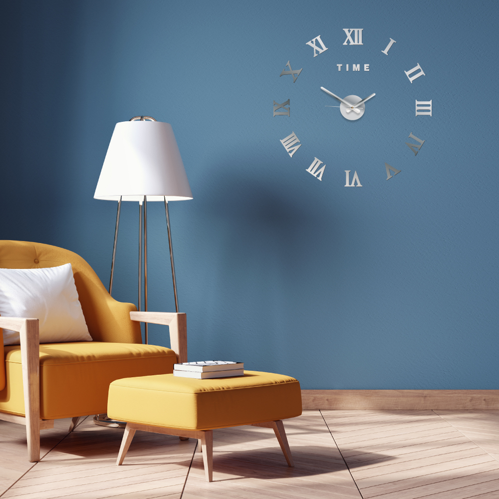 Picture of DIY 3D Sticker Wall Clock