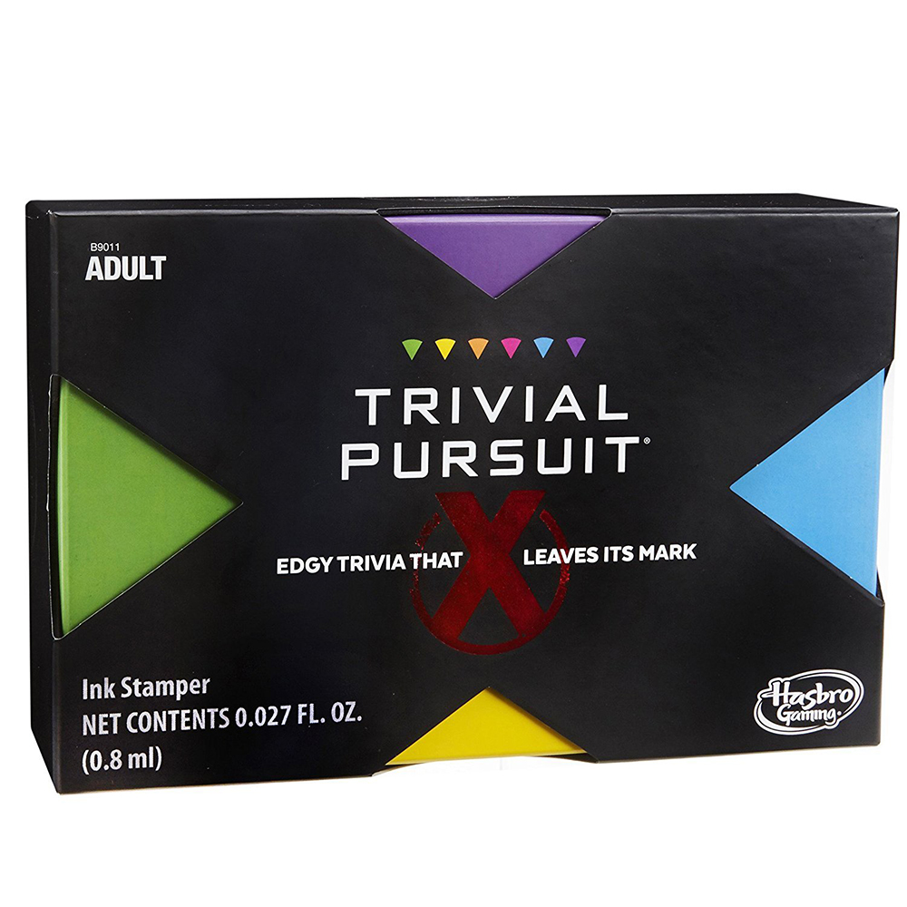 Picture of Trivial Pursuit X: Edgy Adult Trivia Game