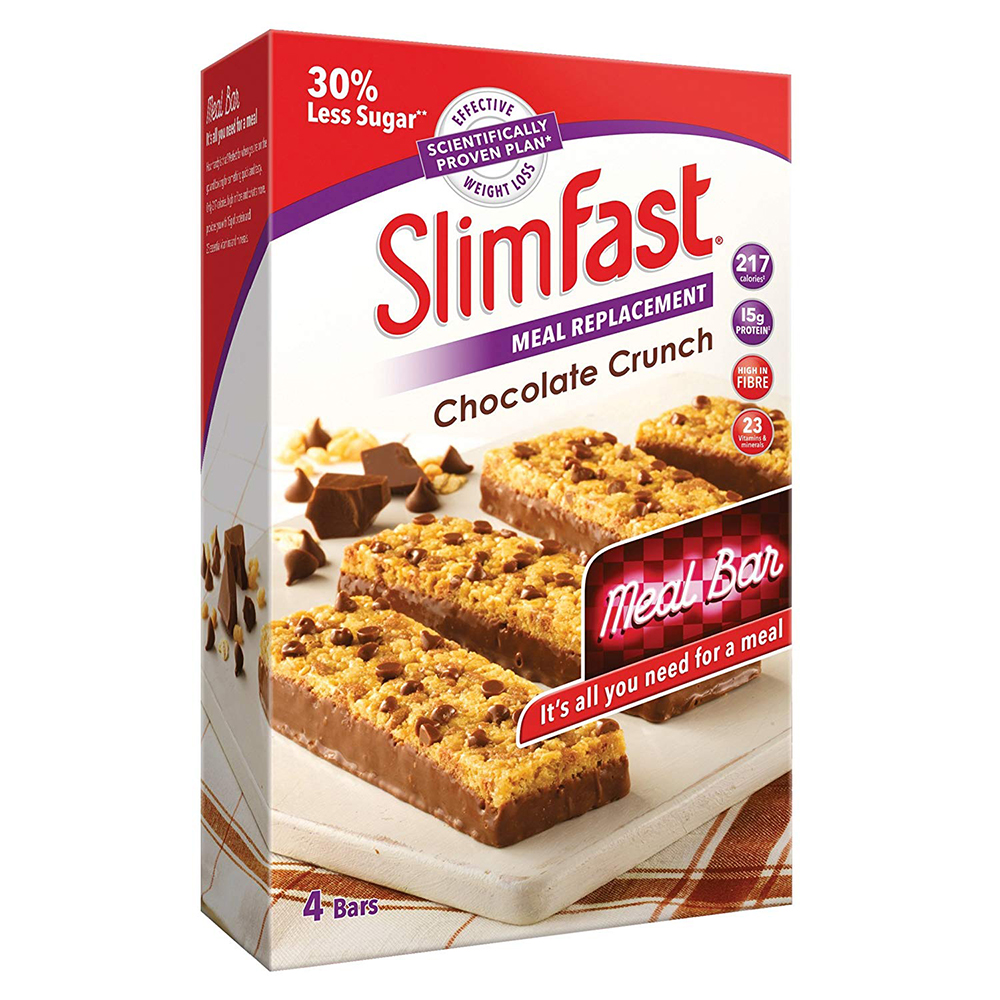 Picture of SlimFast Meal Bar: Chocolate Crunch (Case of 16)