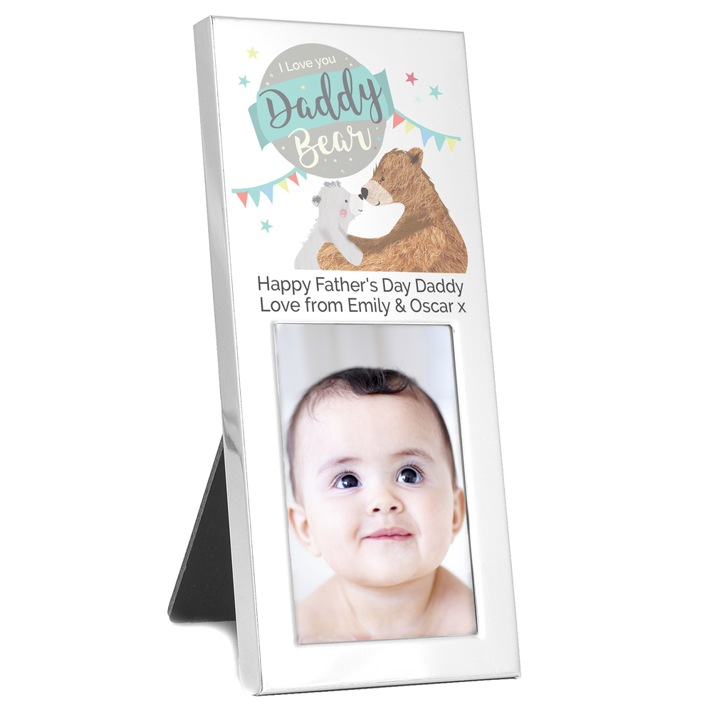 Picture of Personalised Daddy Bear 2x3 Photo Frame