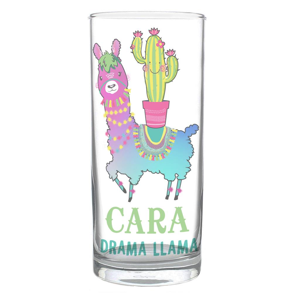 Picture of Personalised Llama Hi Ball Glass