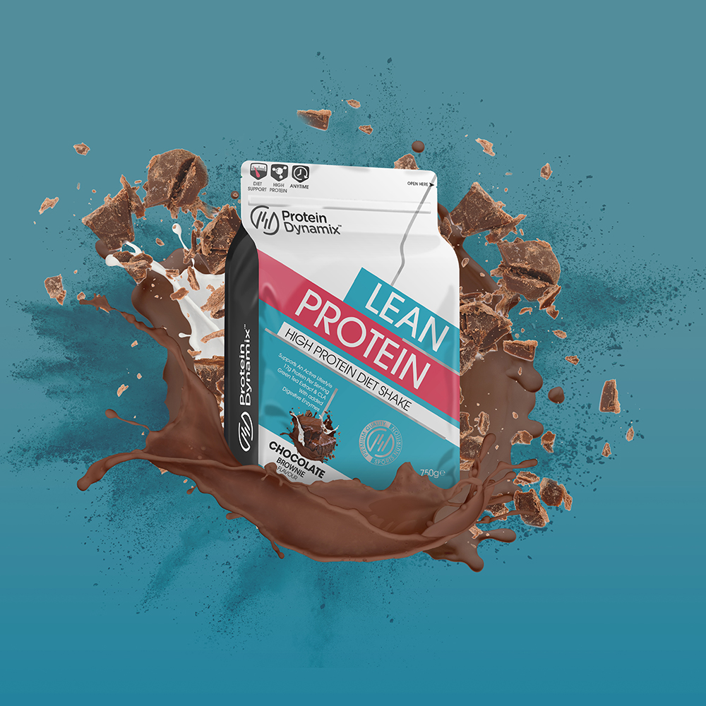 Picture of Protein Dynamix Lean Protein High Protein Diet Shake Chocolate Brownie