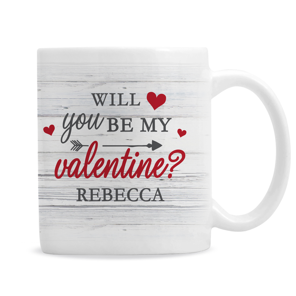 Picture of Personalised Be My Valentine Mug
