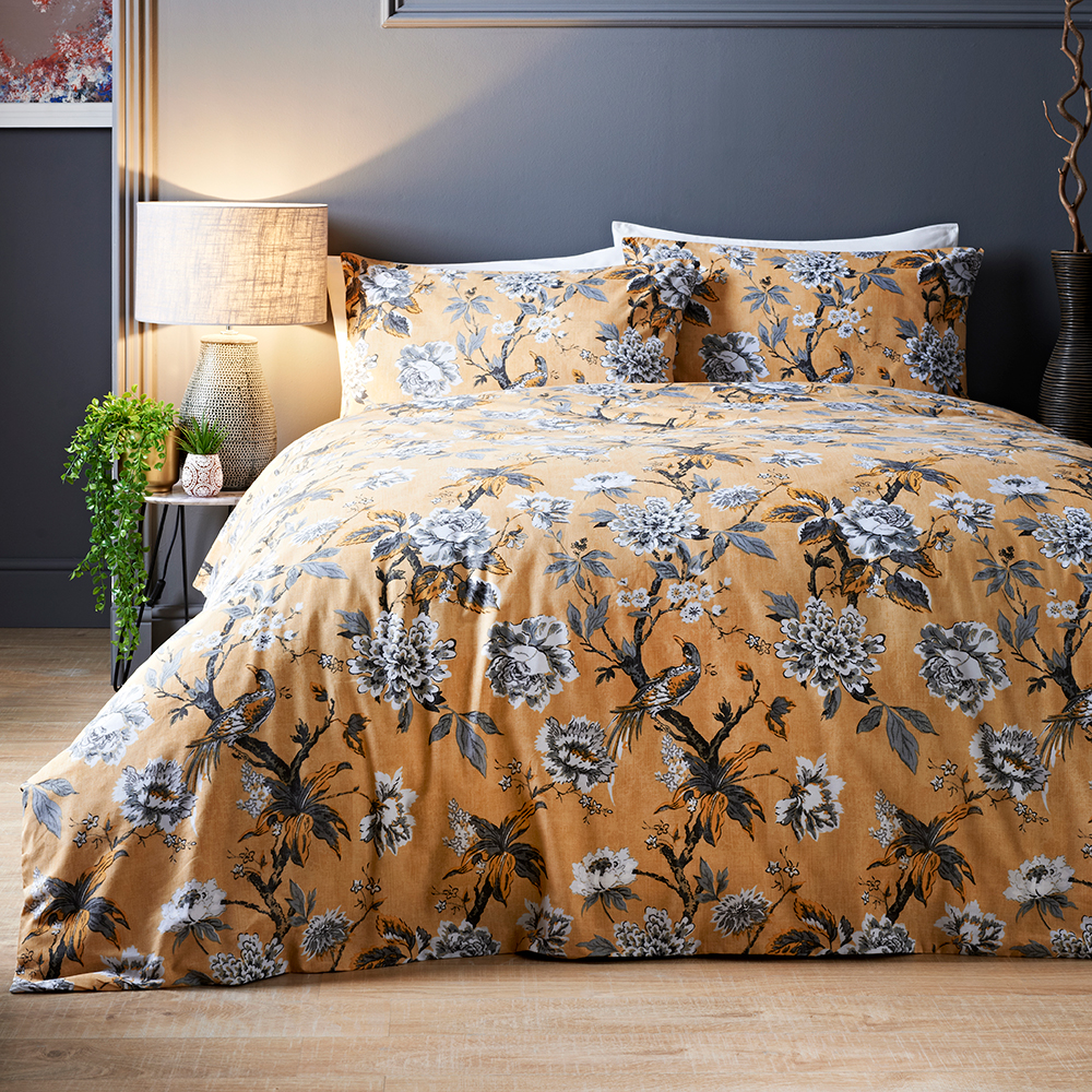 Picture of Jeff Banks Ports of Call: Adina Ochre Bed Set