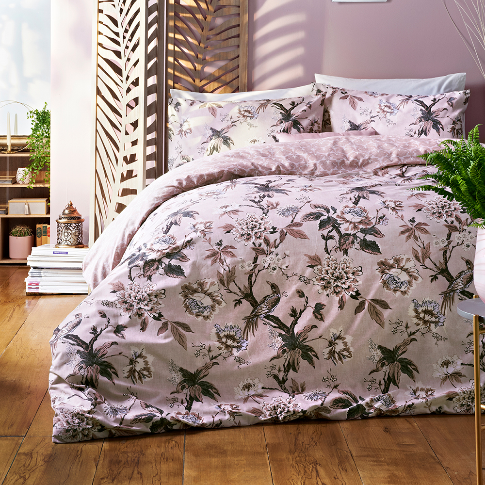 Picture of Jeff Banks Ports of Call: Adina Blush Bed Set