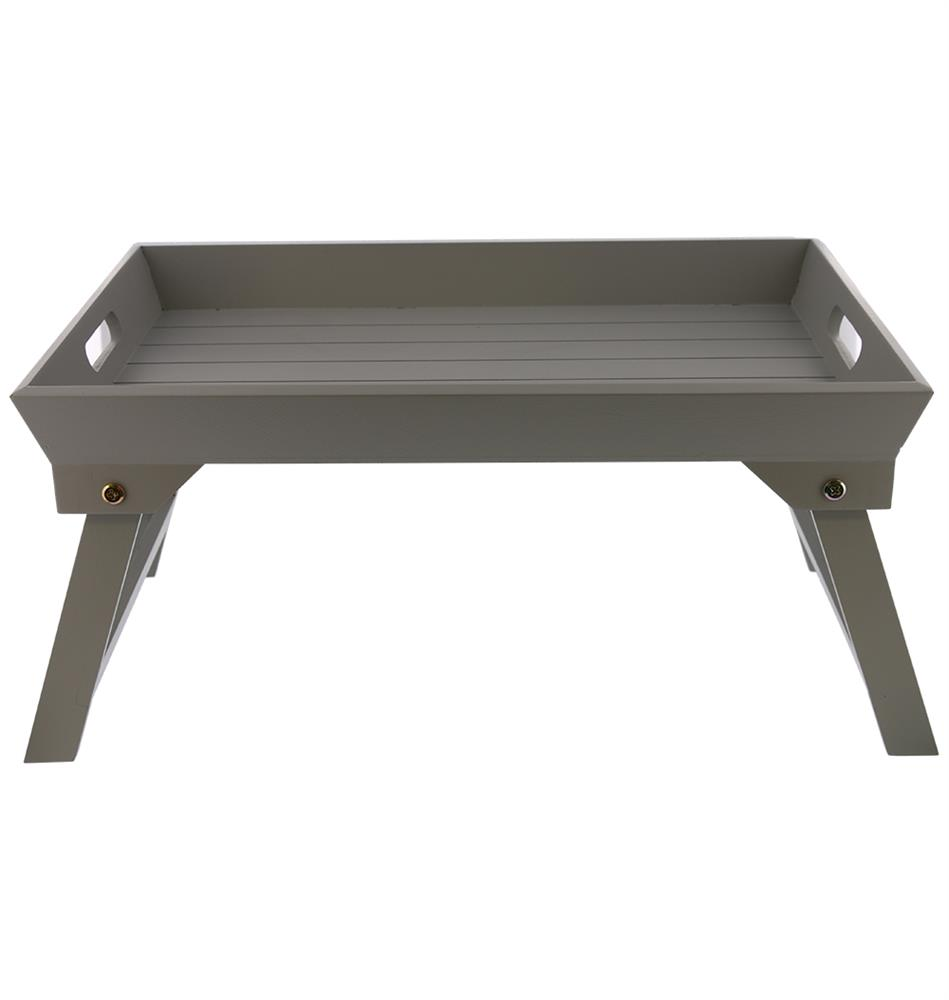 Picture of Wooden Bed Tray: Grey