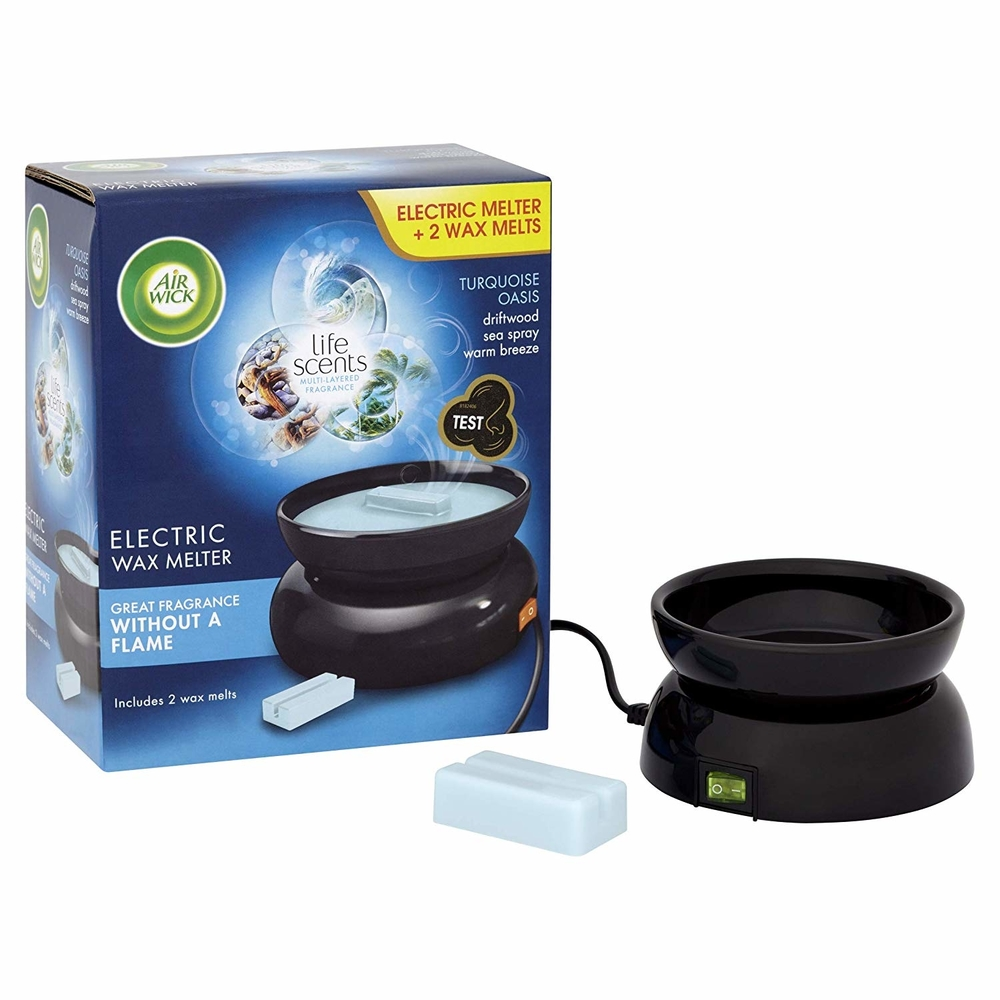 Picture of Air Wick Electric Wax Melter with Turquoise Oasis Refills