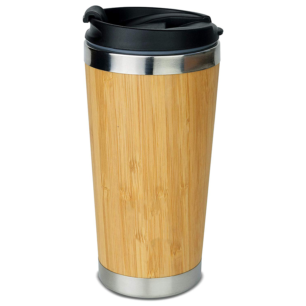 Picture of Live Lightly Reusable Sustainable Bamboo Coffee Mug