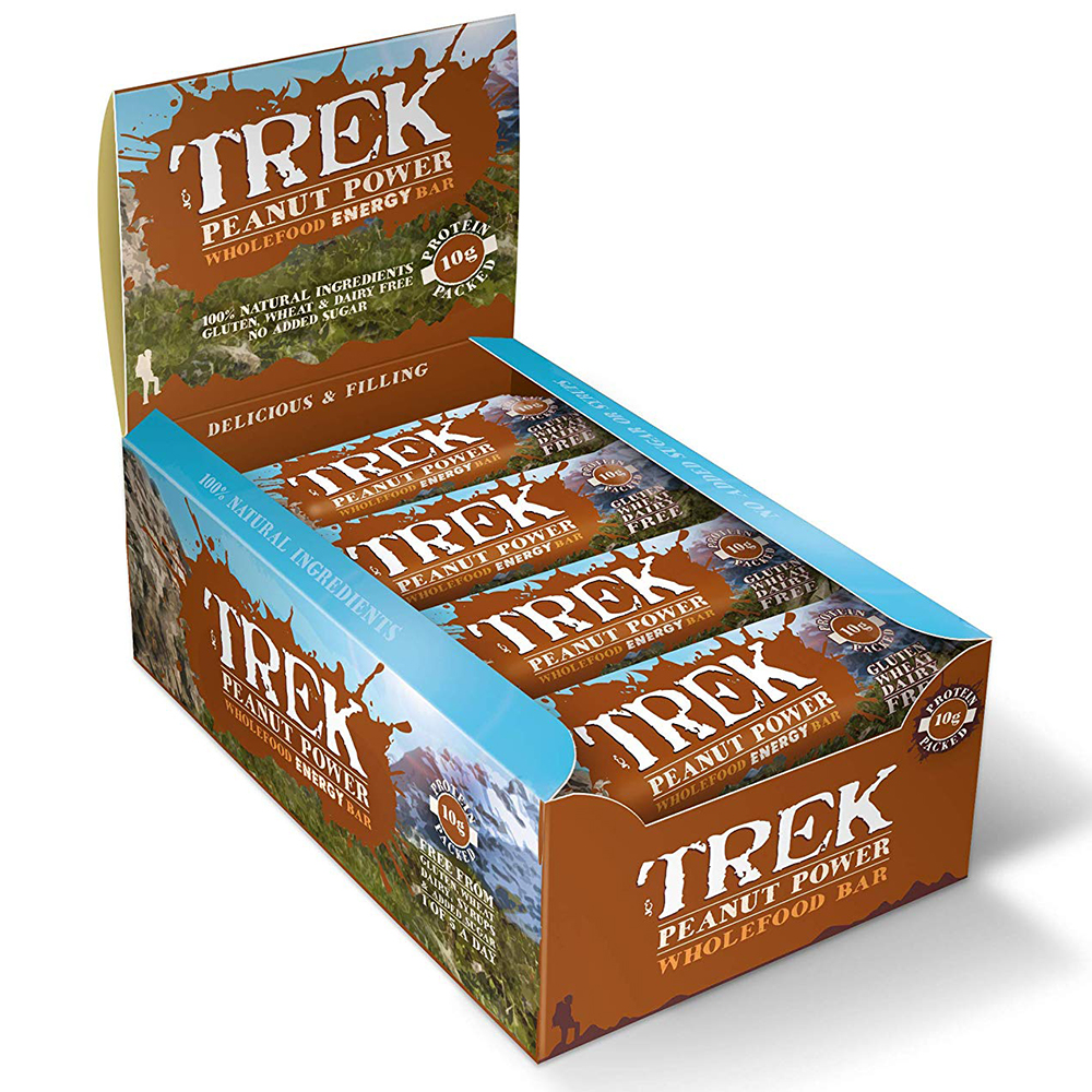 Picture of Trek Peanut Power (Case of 16 Bars)