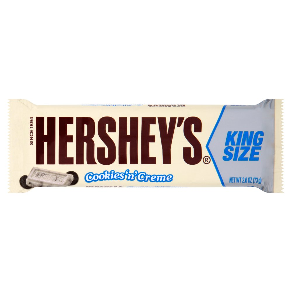 Picture of Hershey's Cookie 'n' Creme King Size Bars (18 x 73g Bars)