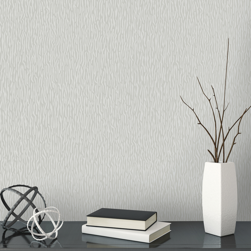 Picture of Statement Opulent Wallcoverings: Finley Texture Grey