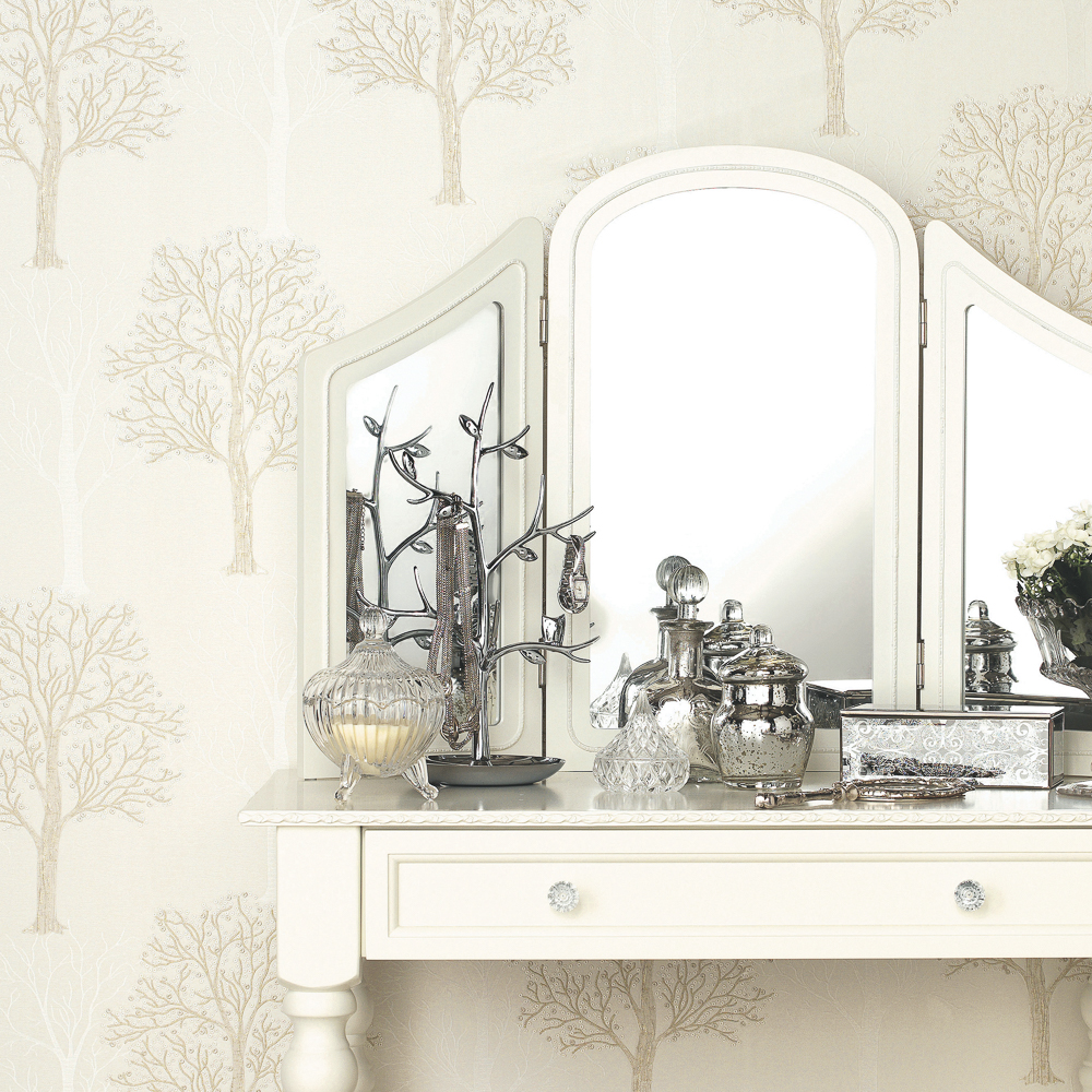 Picture of Opus Wallcovering: Heavyweight Vinyl Chiara Cream