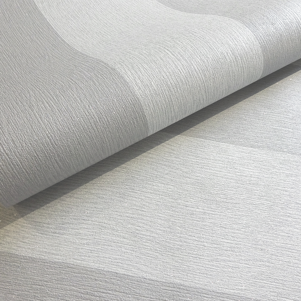 Picture of Statement Wallcovering: Harriet Stripe Grey