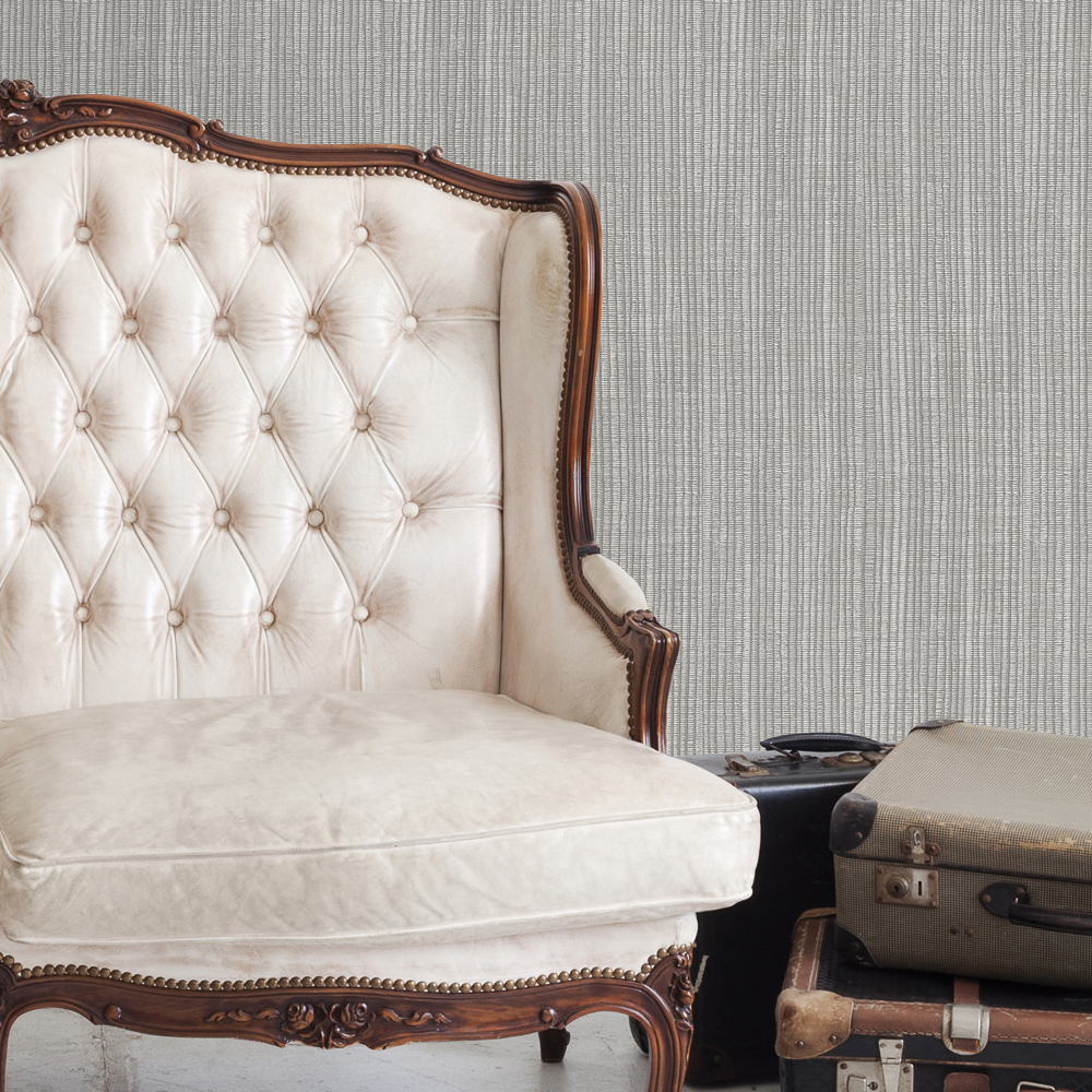 Picture of Statement Wallcovering: Naturelle Grey