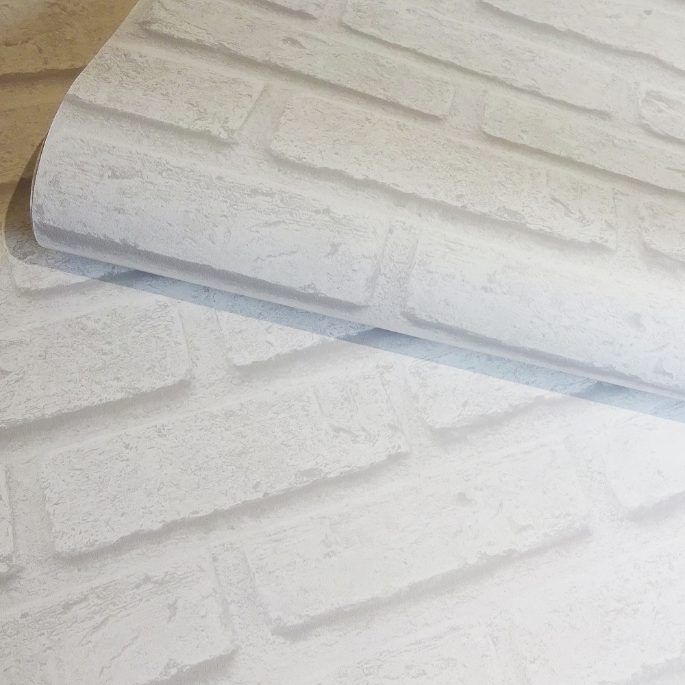 Picture of K2 Living Wallcovering: Brick White