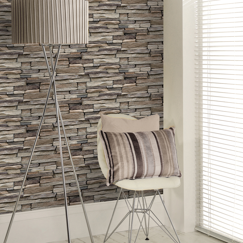 Picture of K2 Living Wallcovering: Stone Effect Natural