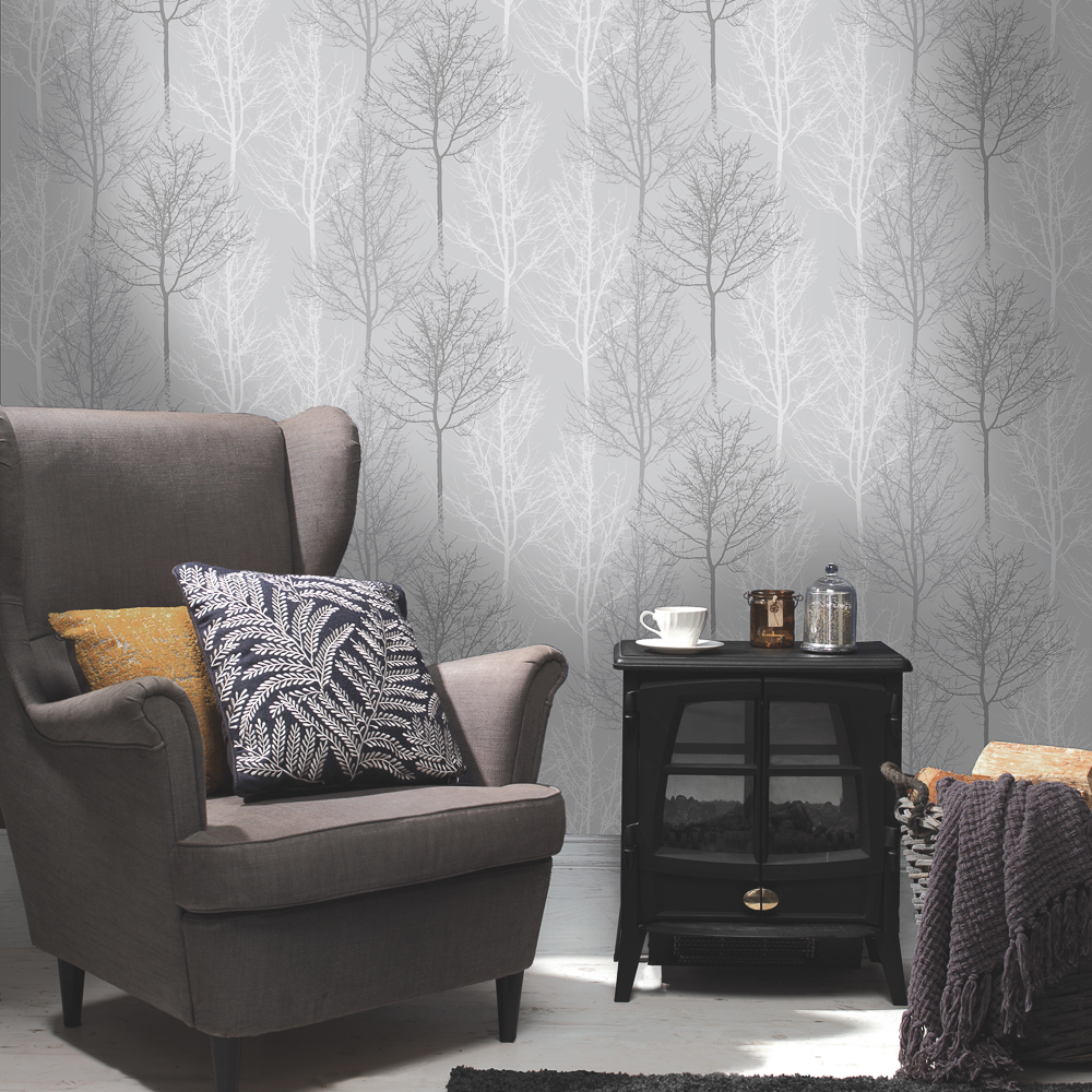 Picture of K2 Living Wallcovering: Bowland Grey