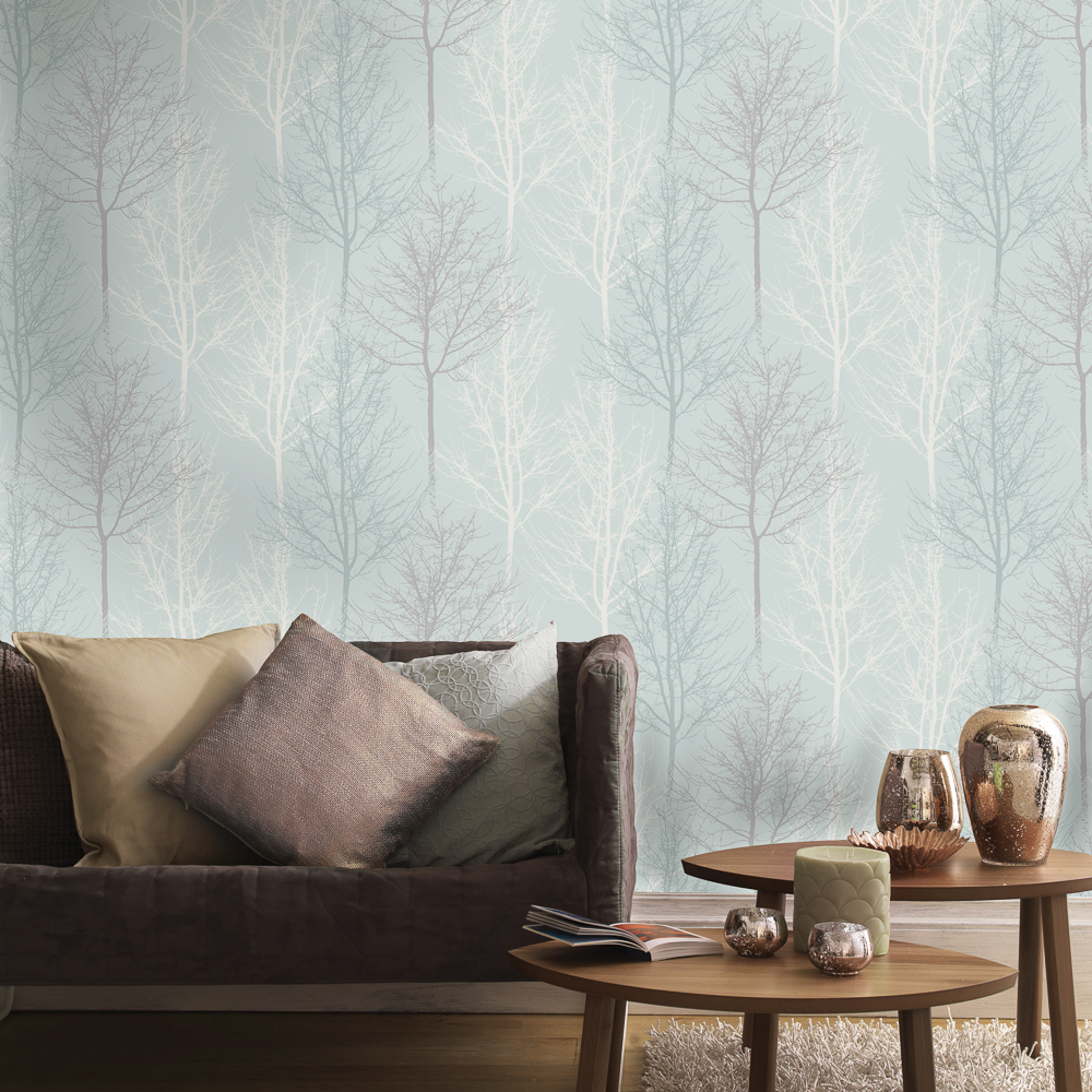 Picture of K2 Living Wallcovering: Bowland Teal