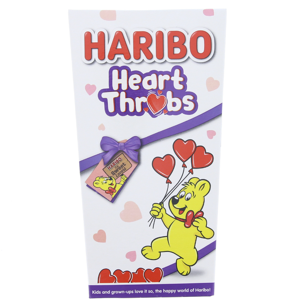 Picture of Haribo Heart Throbs (Case of 12 Boxes)