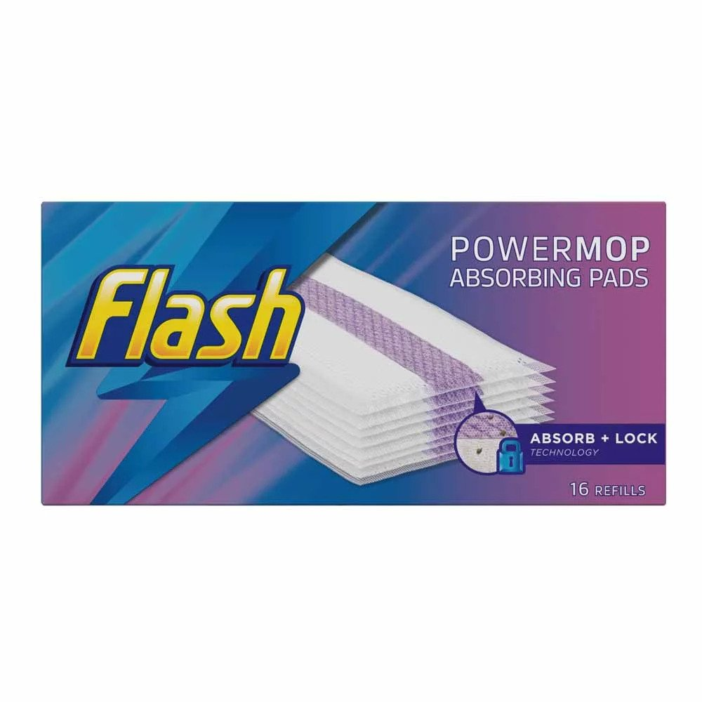 Picture of Flash Powermop Absorbing Pads 64 Refills