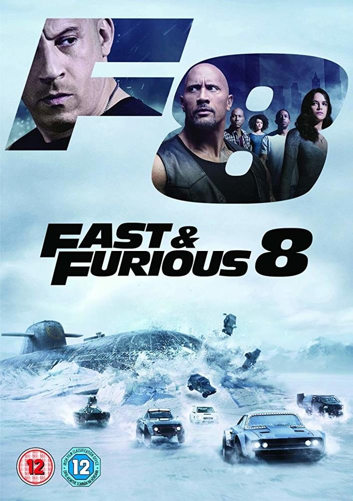 Picture of Fast & Furious 8 DVD