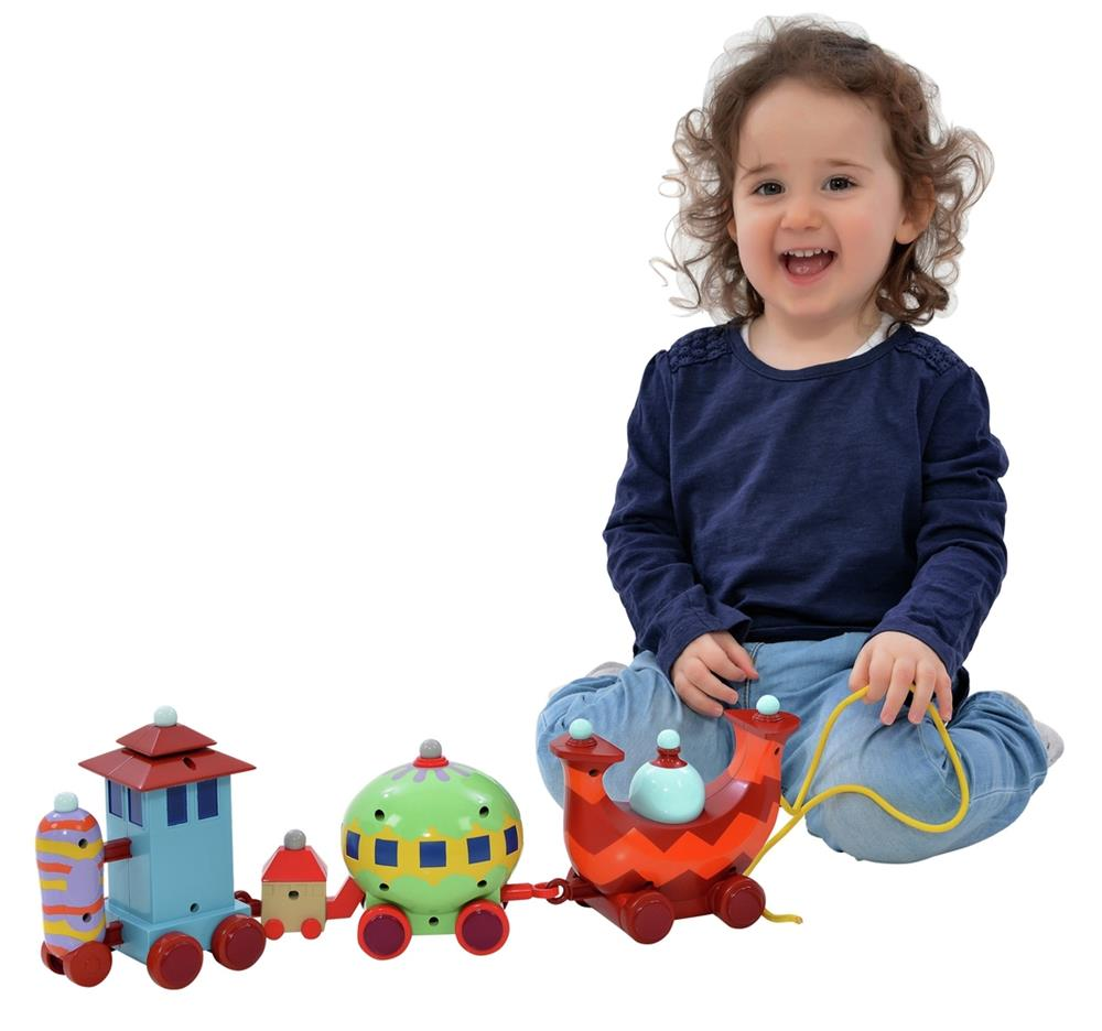 Picture of In the Night Garden Pull-Along Ninky Nonk Wobble Train