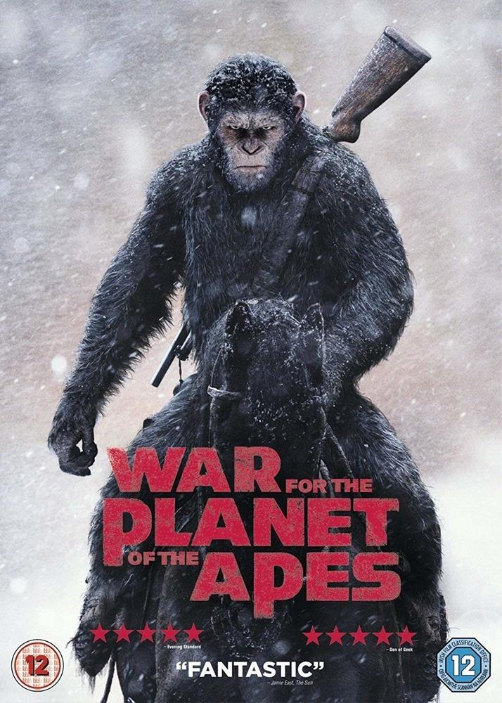 Picture of War for the Planet of the Apes DVD