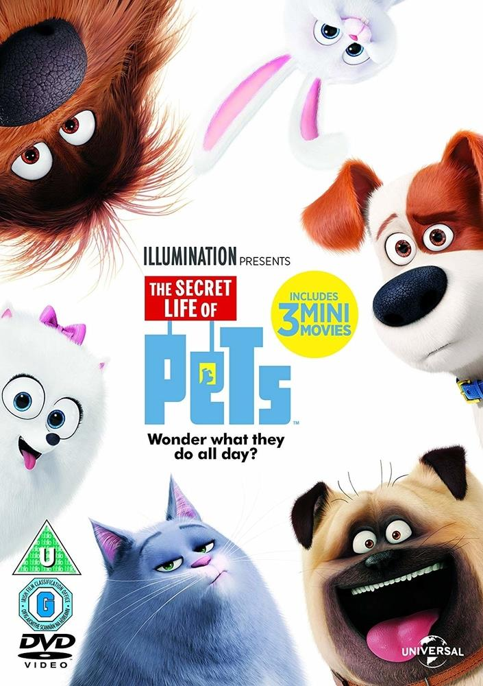 Picture of The Secret Life of Pets DVD