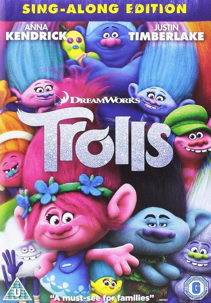 Picture of Trolls DVD