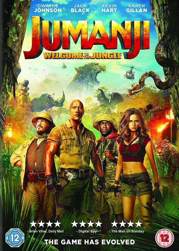 Picture of Jumanji: Welcome to the Jungle DVD