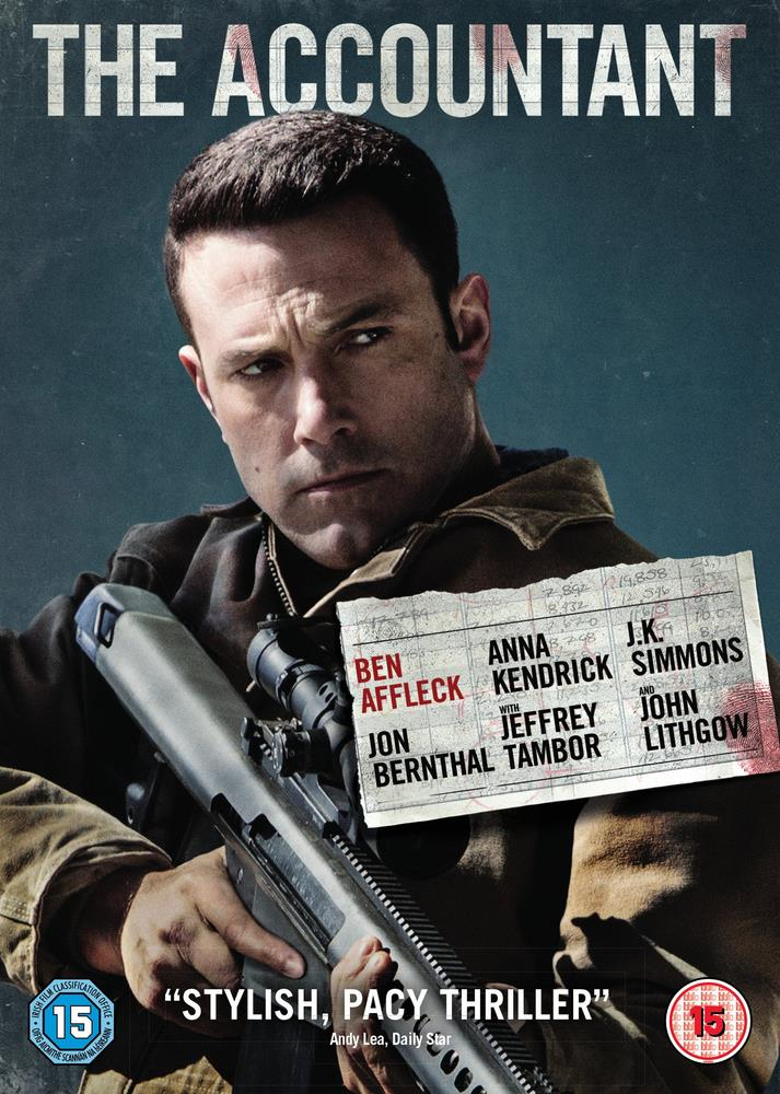 Picture of The Accountant DVD
