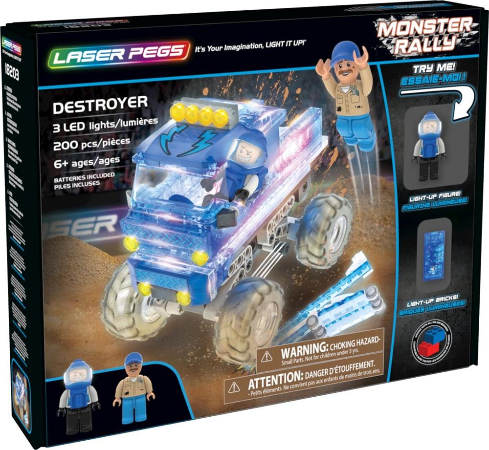 Picture of Laser Pegs Monster Rally: Destroyer