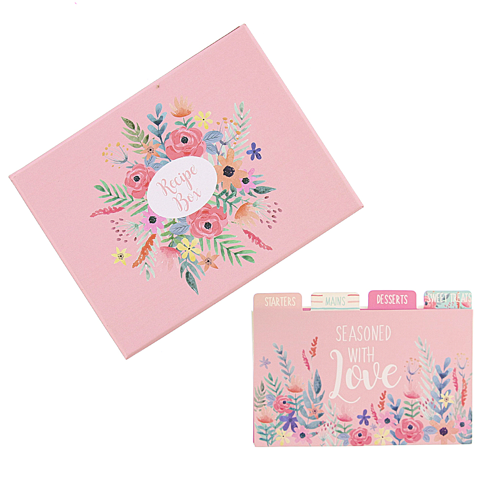 Picture of Mother's Day Recipe Box with Cards