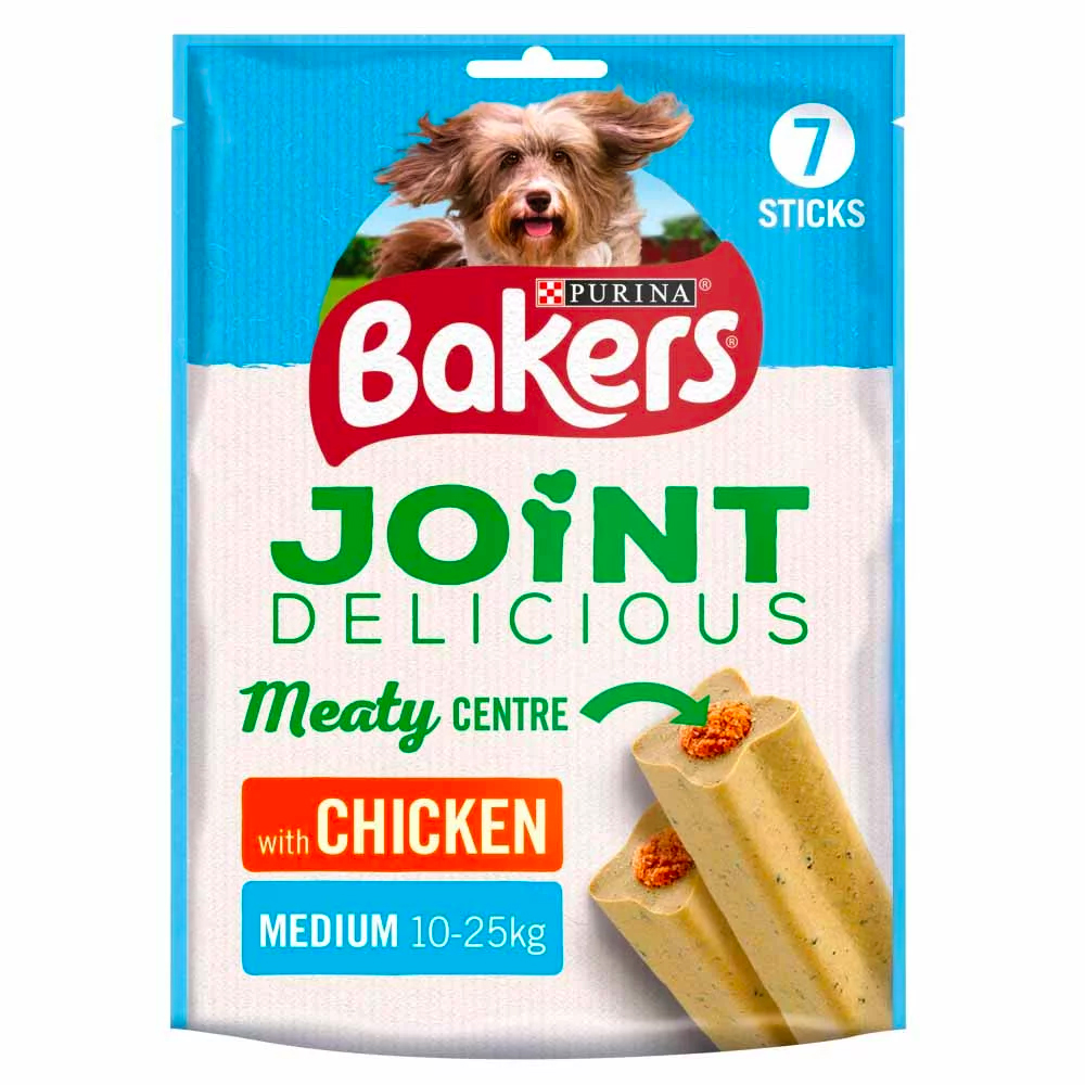 Picture of Bakers Joint Delicious Chicken: Medium Dog (6 x 180g Packs)