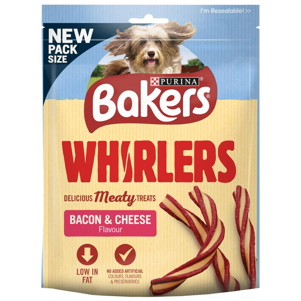 Picture of Bakers Whirlers Bacon & Cheese Flavour (6 x 130g Bags)